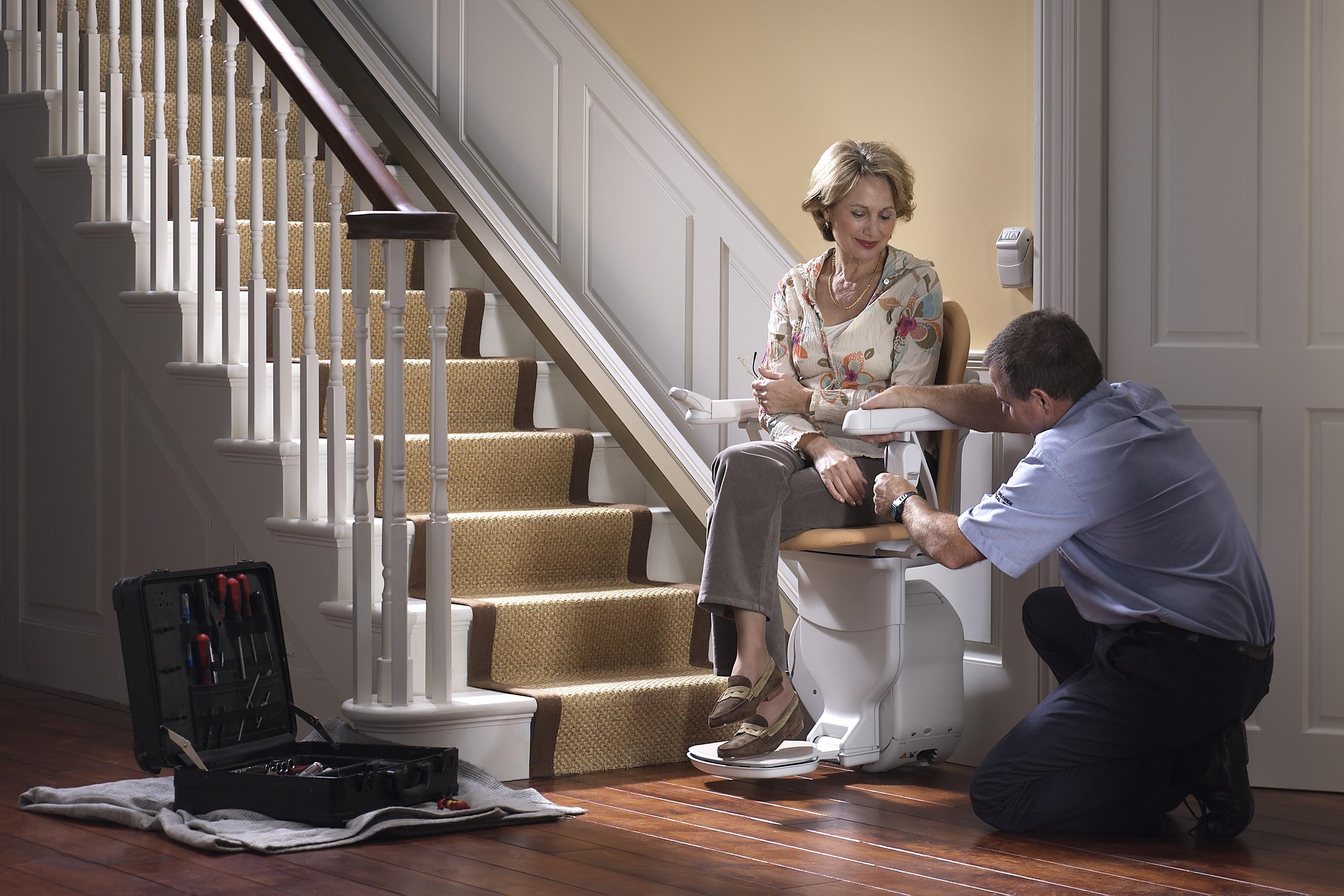 Residential Stair Chair Lift